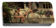 A Basketful Of Spring Portable Battery Charger by HH Photography of Florida