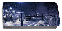 A Battery Park Winter Portable Battery Charger