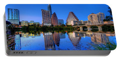 Portable Battery Charger featuring the photograph A Beautiful Austin Evening by Dave Files