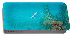 A Bird's Eye View Portable Battery Charger by Denise Bird