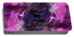 Portable Battery Charger featuring the digital art A Blessing by Margie Chapman