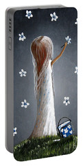 Whimsical Paintings Portable Battery Charger
