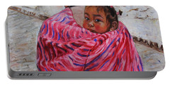 A Bundle Buggy Swaddle - Peru Impression IIi Portable Battery Charger by Xueling Zou