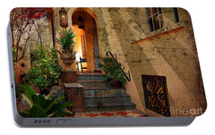Portable Battery Charger featuring the photograph A Charleston Garden by Kathy Baccari