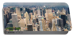 A Cloudy Day In New York City   Portable Battery Charger