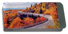 A Colorful Ride Along The Blue Ridge Parkway Portable Battery Charger
