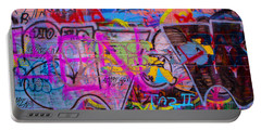 A Colourful Wall. Portable Battery Charger
