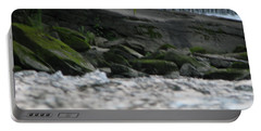 Portable Battery Charger featuring the photograph A Day At The River by Michael Krek
