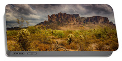 A Day At The Superstitions  Portable Battery Charger