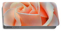 A Delicate Rose Portable Battery Charger by Cindy Manero