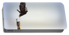 A Falcon Takes To The Air Portable Battery Charger