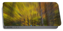 Portable Battery Charger featuring the photograph A Fall Stroll Taughannock by Jerry Fornarotto
