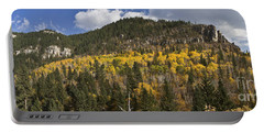 A Falls Day In Spearfish Canyon Of South Dakota Portable Battery Charger