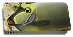 A Fish From The Ocean Portable Battery Charger by Tom Janca