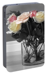 A Foundation Of Love Portable Battery Charger by Cathy  Beharriell