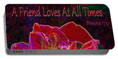 A Friend Loves At All Times Portable Battery Charger