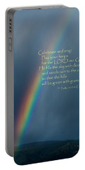 A Gift From God Portable Battery Charger by Mick Anderson