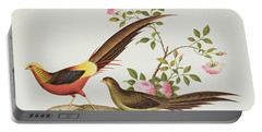 A Golden Pheasant Portable Battery Charger by Chinese School