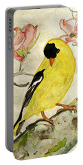 A Goldfinch Spring Portable Battery Charger