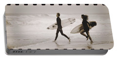 Portable Battery Charger featuring the photograph A Good Day To Surf by Alice Gipson
