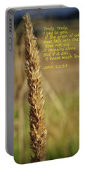 A Grain Of Wheat Portable Battery Charger