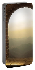 Portable Battery Charger featuring the photograph A Great View Of China by Nicola Nobile