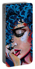 A Happy Woman Is A Satisfied Woman Portable Battery Charger
