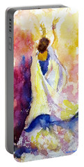 A Heavenly Dancer Portable Battery Charger
