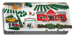 A Jolly Holly Holiday Portable Battery Charger