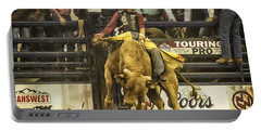A Lot Of Bull At The National Stock Show Portable Battery Charger