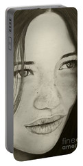 A Mark Of Beauty - Beauty Portable Battery Charger by Malinda Prudhomme