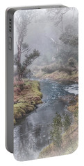 A Misty Morning In Bridgetown Portable Battery Charger