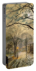 A Moonlit Stroll Bonchurch Isle Of Wight Portable Battery Charger