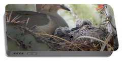 Portable Battery Charger featuring the photograph A Mothers' Love by Deb Halloran