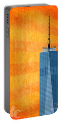 A New Day - World Trade Center One Portable Battery Charger