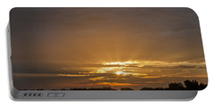 A New Day - Sunrise In Texas Portable Battery Charger