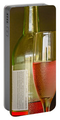 A Nice Glass Of Wine Portable Battery Charger