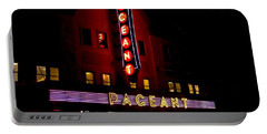 A Night At The Pageant Portable Battery Charger by Kelly Awad