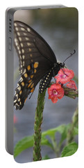 A Pause In Flight Portable Battery Charger by Judith Morris