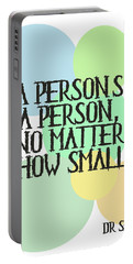 A Person's A Person - Dr Seuss Portable Battery Charger