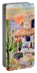 A Place Of My Own Portable Battery Charger by Marilyn Smith