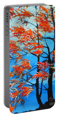 Portable Battery Charger featuring the painting A Place To Get Away by Dan Whittemore
