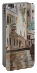 A Quiet Venice Canal Portable Battery Charger