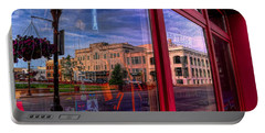 A Reflection Of Wausau's Grand Theater Portable Battery Charger