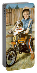 A Ride In The Backyard Portable Battery Charger
