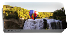 A Ride Over The Falls Portable Battery Charger