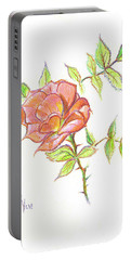 A Rose In Brigadoon Portable Battery Charger