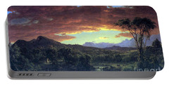 A Rural Home By Frederick Edwin Church Portable Battery Charger