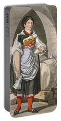 A Serving Girl At An Inn Portable Battery Charger