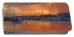 Portable Battery Charger featuring the photograph A Sky Full Of Wonder - Florida Sunset by HH Photography of Florida